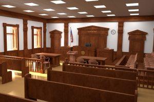 A peek inside the courtroom