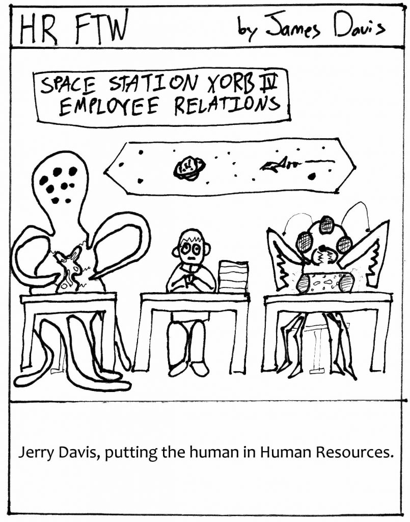 HR FTW Comic Strip