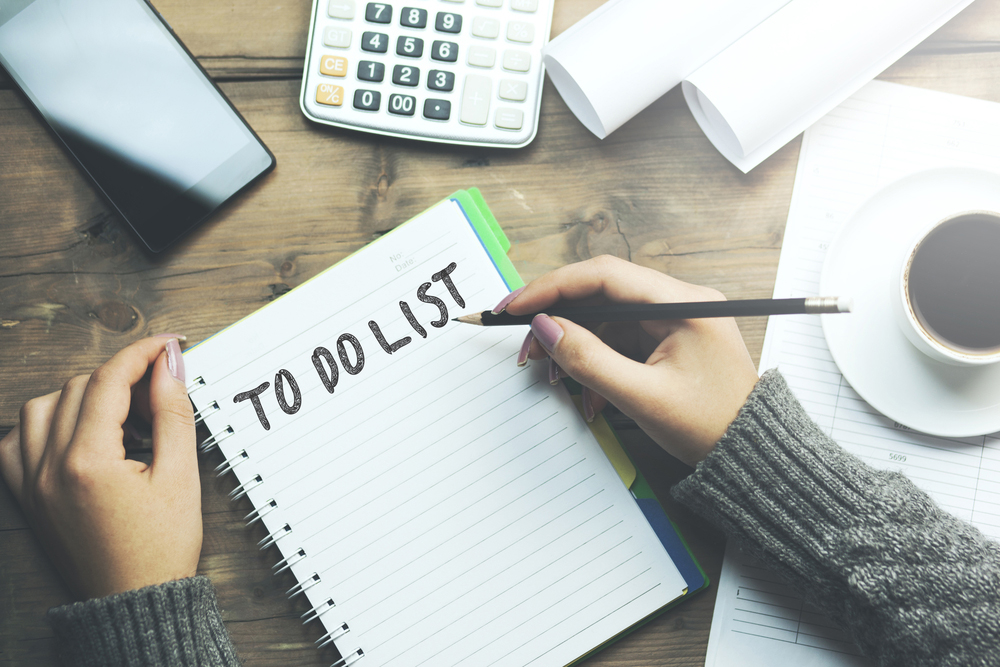 The Emotional Benefits of a To-Do List
