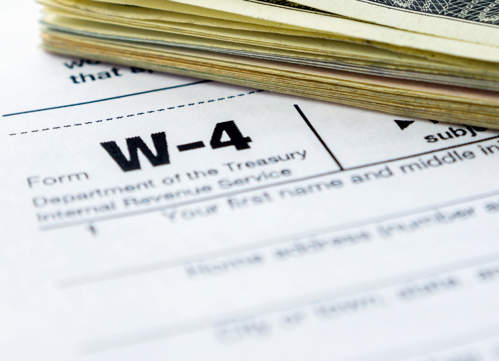 Printable W4 Form 2020.Irs Proposes Major Revisions To Form W 4 For 2020 Hr Daily