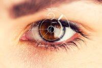retina iris scanner scan