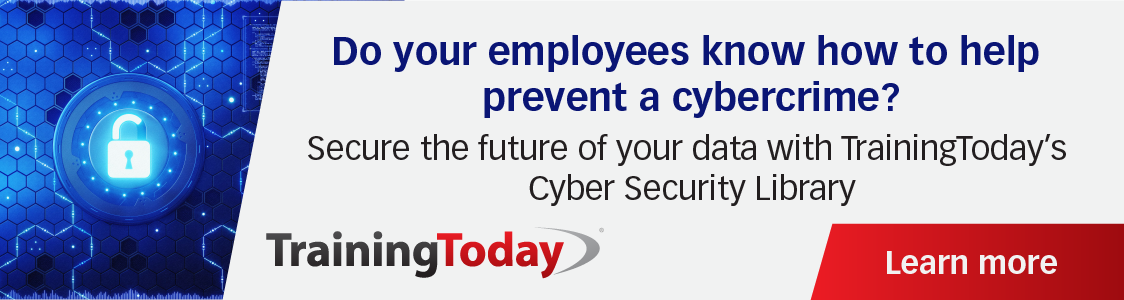 cybersecurity, training today
