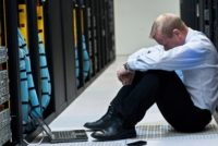 Server frustration, cybersecurity fail