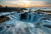 Thor's Well, Oregon, USA.