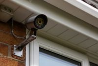 Mounted Security camera