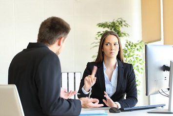 Workplace violence standing up to office bully