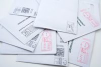 Image of unsorted first class mail