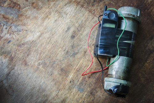 IED pipe bomb