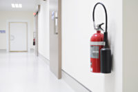 fire extinguisher hospital