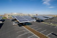 olar Panel Array, Parking Lot
