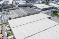 Aeriel view of an industrial park