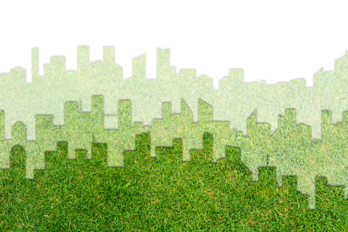 Sustainable energy city concept