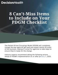 PDGM Checklist